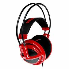 SteelSeries Siberia v2 Gaming Headset - RED, Full Sized, Over Ear w/Microphone
