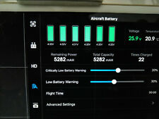 DJI Inspire 1 Battery TB48 (5700mAh) - 22 charges, excellent condition