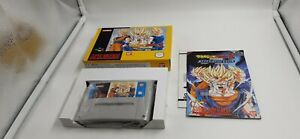 Jeu Super Nintendo SNES Dragon Ball Z Hyper Dimension complet
