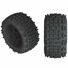 ARRMA dBoots Backflip LP 4S Tire 3.8 Glued Black (2) ARAC9468