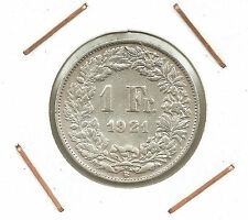 Switzerland: 1/2 Franc 1921B XF