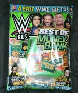 WWE Kids Magazine Issue #170 June 2021 Money In The Bank McIntyre Keyring