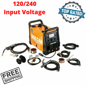 Industrial Multiprocess Welder Welding Machine 120 240 Volt Input Mig Tig Stick