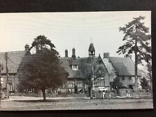 RP Vintage Postcard - Northamptonshire #B6 - The School, Nether Heyford