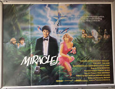 Cinema Poster: MIRACLES 1986 (Quad) Tom Conti Teri Garr Paul Rodriguez