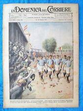 La Domenica del Corriere 22 maggio 1921 Anversa - Pavia - Mascagni
