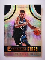 Panini Essentials 2017-18 card carte NBA Timberwolves ES-10 Karl Anthony Towns