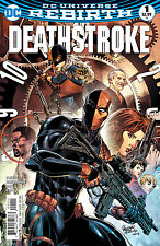 DEATHSTROKE #1, New, First print, DC REBIRTH (2016)