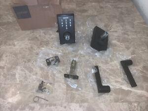 Schlage Touch Century Lock Lever (Matte Black) FE695 CEN 622 BRW