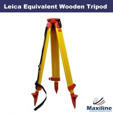 Wooden Tripod for Leica Topcon  Trimble Theodolite Total Station Laser Level