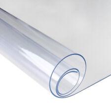 Nappe Transparente Protection de table 2 mm d'épaisseur résistant à l'huile