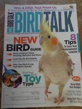 **BIRD TALK MAGAZINE Apr 10 Tame Cockatiel New Bird Guide Necessities for Parrot
