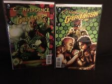 Convergence Green Lantern Corps Issues 1 And 2 Complete Set NM