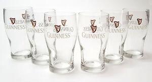 Guinness Gläser Set - 6X 0,5L