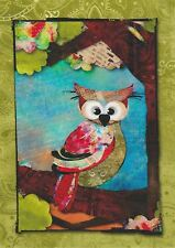 Vignette Patch tissu thermocollant Forêt Hibou Iron-on patch Owl