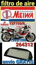 YAMAHA YZF750 YZF750R FILTRO AIRE MIW MEIWA 264312