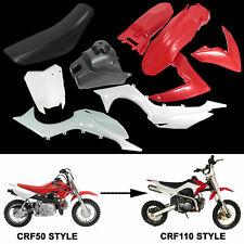 Fender Plastics Seat Tank Conversion for CRF50 Dirt  Atomik 110cc 125cc Pit Bike