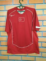 Turkey Jersey 2004 2006 Home MEDIUM Shirt Mens Football Soccer Nike