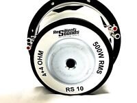 Resilient Sounds RS10 inch Dual 4 Ohm 500RMS/1000Watt Peak