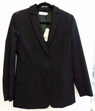 NWT Calvin Klein Collection Women's Size 6 Black Wool Blazer $940 Retail Couture