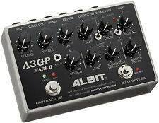 ALBIT A3GP MARKII Guitar Preamp Pedal Effect NEW FREE EMS