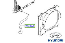 Genuine Hyundai Terracan Lower Radiator Hose - 25412H1901