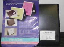 "Lion Flip-N-Tell 40 Chart Display Book-N-Easel 8.5""x11"" 39008-H ++"