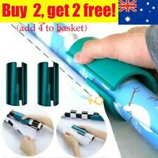Sliding Wrapping Paper Rolls Cutter Craft Present Gift Packing Cutting Tools AU