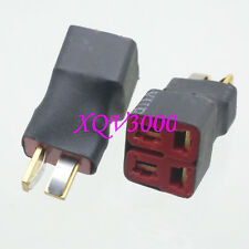 Direct connect: T-Plug Deans Parallel 1M2F Rc Battery Esc Connector Adapter