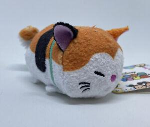"Disney Store Tsum Tsum Mini Plush 3.5"" JAPAN Mochi Cat 💕 Big Hero 6 *US SELLER*"