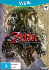The Legend of Zelda Twilight Princess HD Wii U (Bonus CD sound Track) Brand New