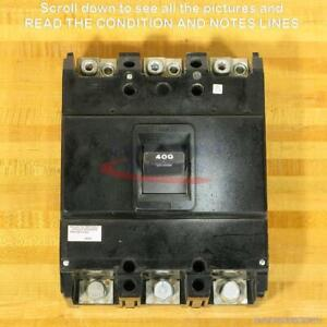 Federal Pacific NJL631400MSMTO Motor Circuit Protect, 400 Amp, Gray Paint, Used