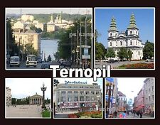 Ukraine - TERNOPIL -- Travel Souvenir Fridge Magnet