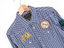 apr105 scotch&soda Camisa Occidental L/S TOP CUADROS AZULES ORIGINAL PREMIUM