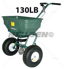 130 Lb (environ 58.97 kg) Multi Usage sel sable grit Salière Graines pelouse engrais épandeur 08