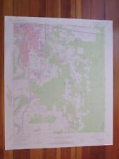 Monroe South Louisiana 1975 Original Vintage USGS Topo Map