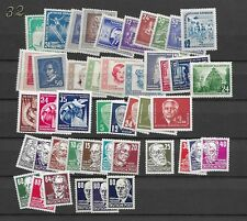 1952 MNH DDR year collection according to  Michel, postfris**