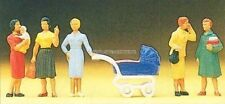 H0 Preiser 10024 femelle passants figurines. emballage d'origine