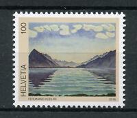 Switzerland 2018 MNH Ferdinand Hodler Lake Thun 1v Set Art Paintings Stamps