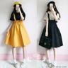 Japanese Preppy Style Sweet Cute Loli Girl JK Suspenders Dress Empire Waist