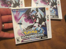 Pokémon Ultra Moon Nintendo 3DS GAME POKEMON AUTHENTIC BRAND NEW FACTORY SEALED