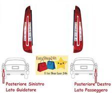 SET 2 FARO FANALE FANALINO POSTERIORE PER FOCUS C-MAX 2007 2010 LED GRUPPO STOP