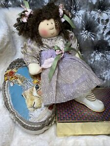 """Vintage Little Souls Inc """" Paulina """" Created By Gretchen Wilson 2003 For Me"""