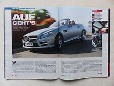 Mercedes-Benz SLK 350 - Cabrio-Extra - Auto Motor Sport Heft 7/2011