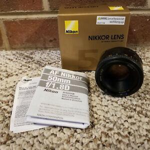 Nikon Nikkor AF 50mm f/1.8D Lens for Nikon For Nikon Digital SLR Cameras