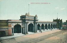 COLUMBUS OH – Union Depot - 1909