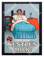 Historic Nestle's Milk 1890 Advertising Postcard