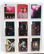 1979 STAR TREK MOTION PICTURE 88 Card & 22 Stickers Set