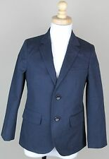 J.Crew Crewcuts Boys $168 Ludlow Suit Jacket Chino NWT 10 blazer navy blue 03525