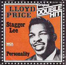 "LLOYD PRICE  Personality & Stagger Lee  PICTURE SLEEVE 7"" 45 rpm record NEW"